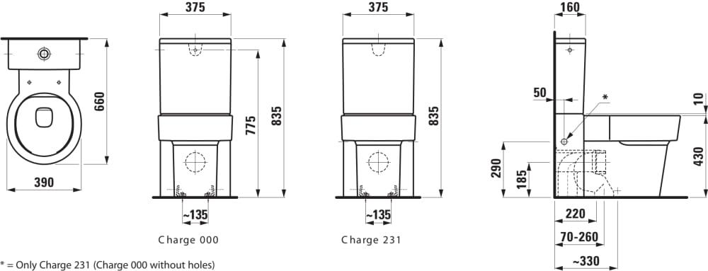 stand wc 39 rimless 39 f r aufgesetzten sp lkasten tiefsp ler ohne sp lrand abgang waagrecht. Black Bedroom Furniture Sets. Home Design Ideas