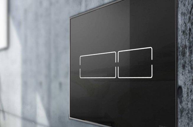 Laufen Tece Tecelux Mini elektronische Glasbetätigungsplatte