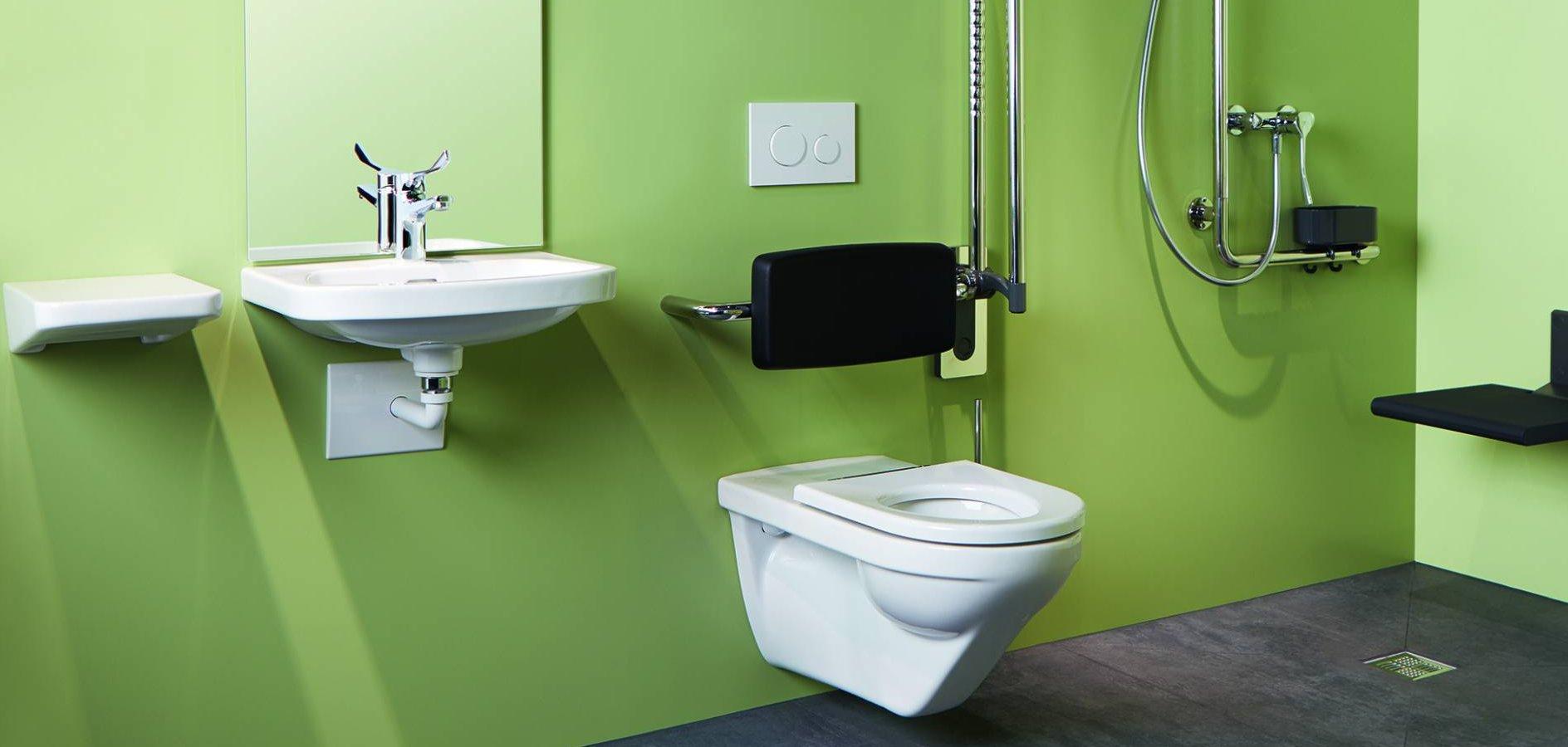 Hindernisfreie WCs